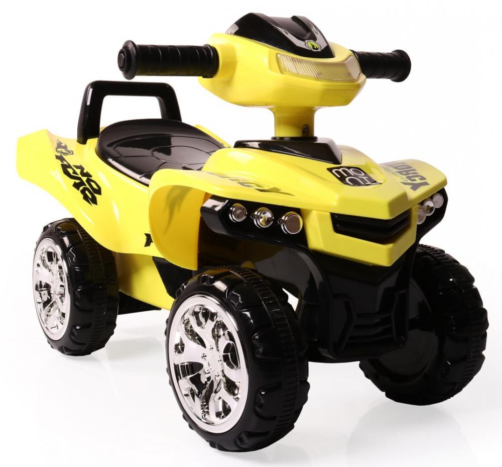 ATV fara pedale No Fear Yellow imagine