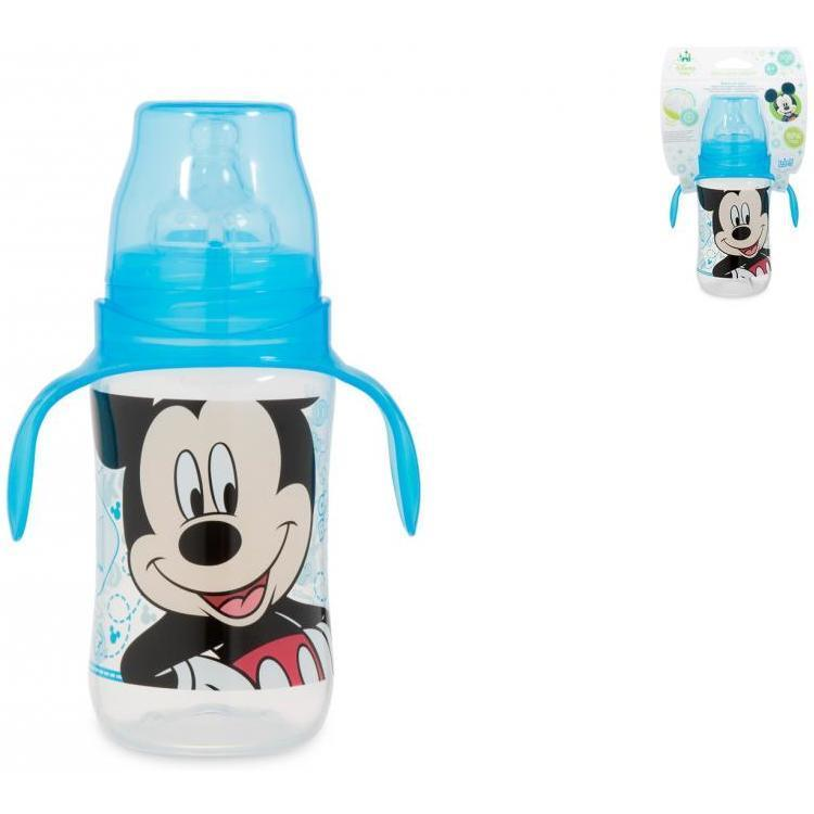 Biberon cu maner 300 ml Mickey Lulabi 7966130