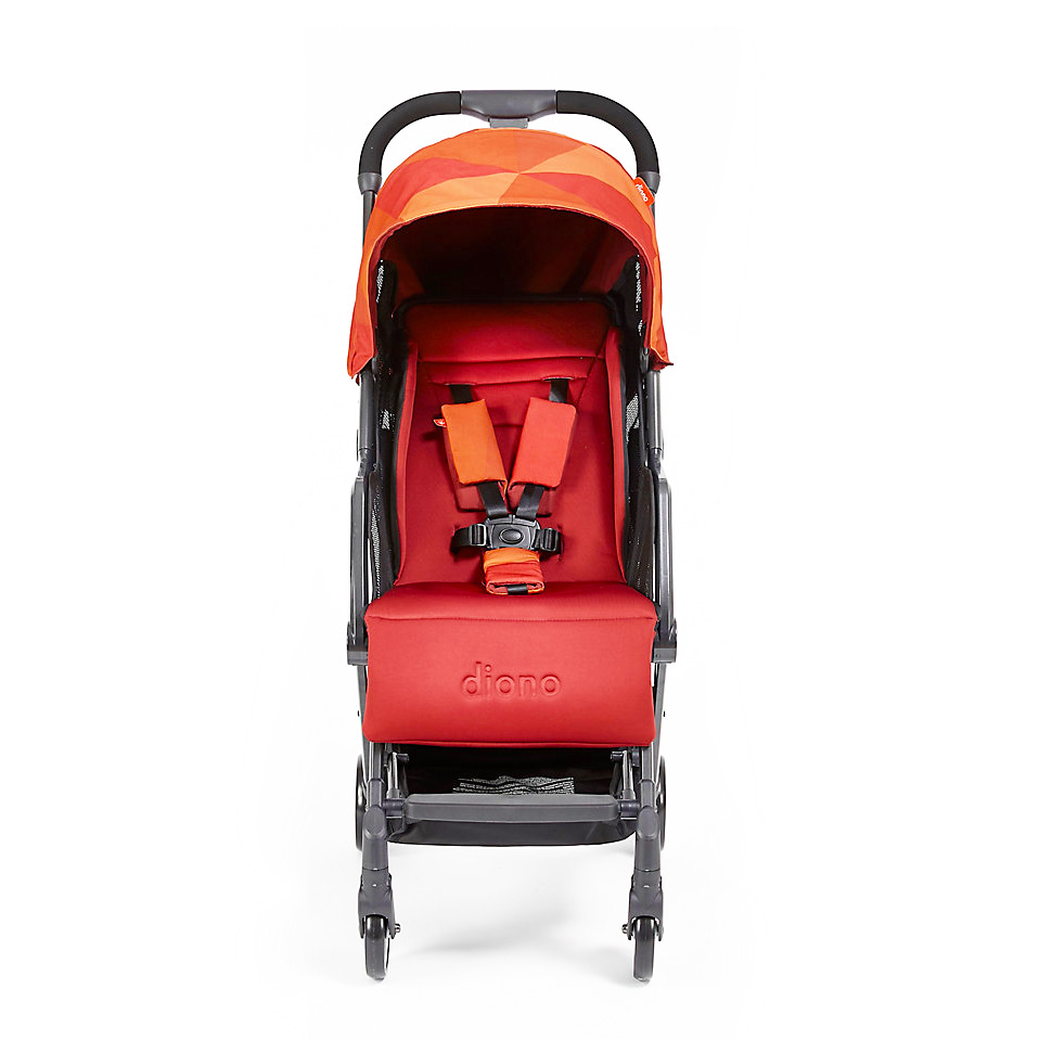 Carucior compact Traverze Orange Facet imagine