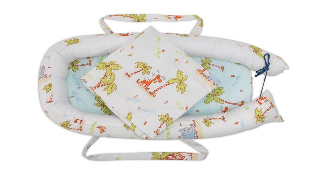 Cuibusor Pentru Bebelusi Baby Nest Jungle