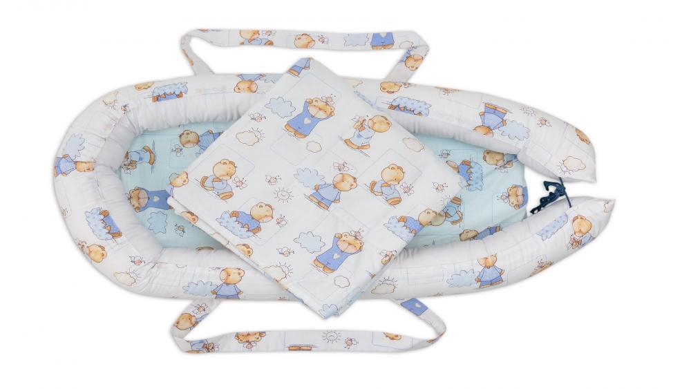 Cuibusor pentru bebelusi Baby Nest Ursuleti