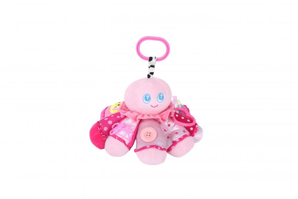 Jucarie de activitate din plus Octopus get to know 30 cm