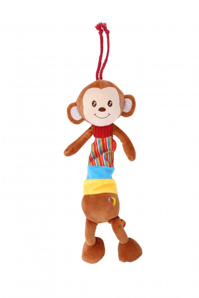 Jucarie muzicala din plus Monkey 36 cm din categoria Carucioare Copii de la LORELLI