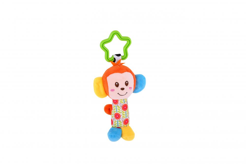 Jucarie zornaitoare din plus Monkey 18,5 cm