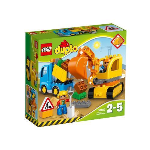 Camion si Excavator pe Senile 10812 Lego Duplo
