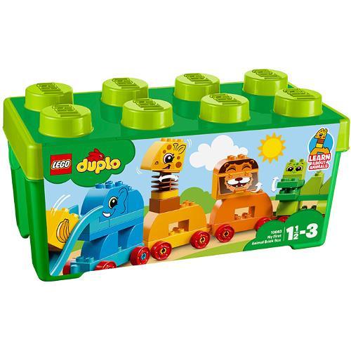 Prima mea cutie de caramizi cu animale Lego Duplo