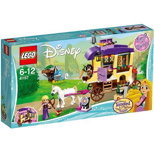 Rulota de calatorii a lui Rapunzel Lego Disney