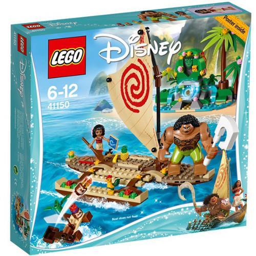 Vaiana si Calatoria Ei pe Ocean Lego Disney