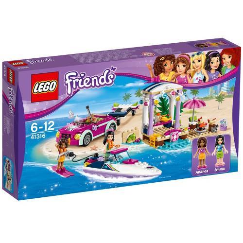 Barca Transportoare cu Motor a Andreei Lego Friends