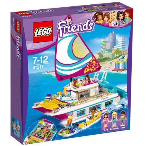 Croaziera Insorita pe Catamaran Lego Friends