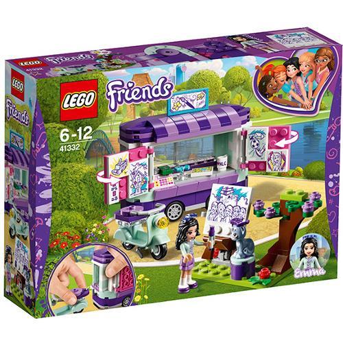 Standul de arta al Emmei Lego Friends