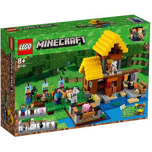 Casuta de la Ferma Lego Minecraft