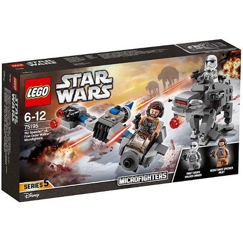 Ski Speeder contra Walker al Ordinului Intai Microfighters 75195 Lego Star Wars