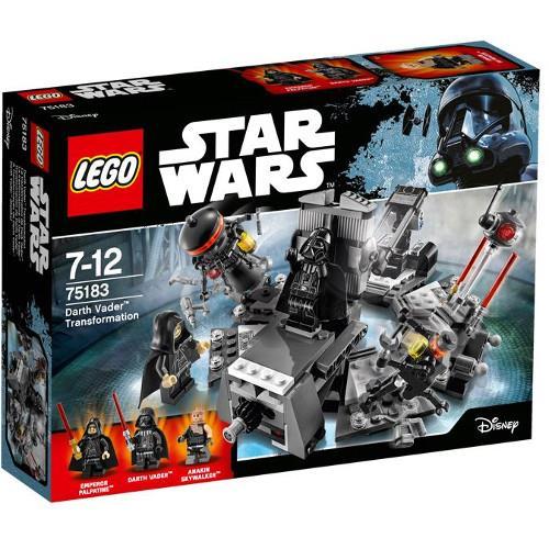 Transformarea Darth Vader Lego Star Wars