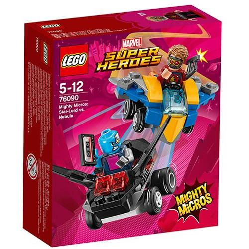 Mighty Micros Star Lord Contra Nebula Lego Marvel Super Heroes