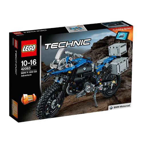 Motocicleta BMW R 1200 GS Adventure 42063 Lego Technic