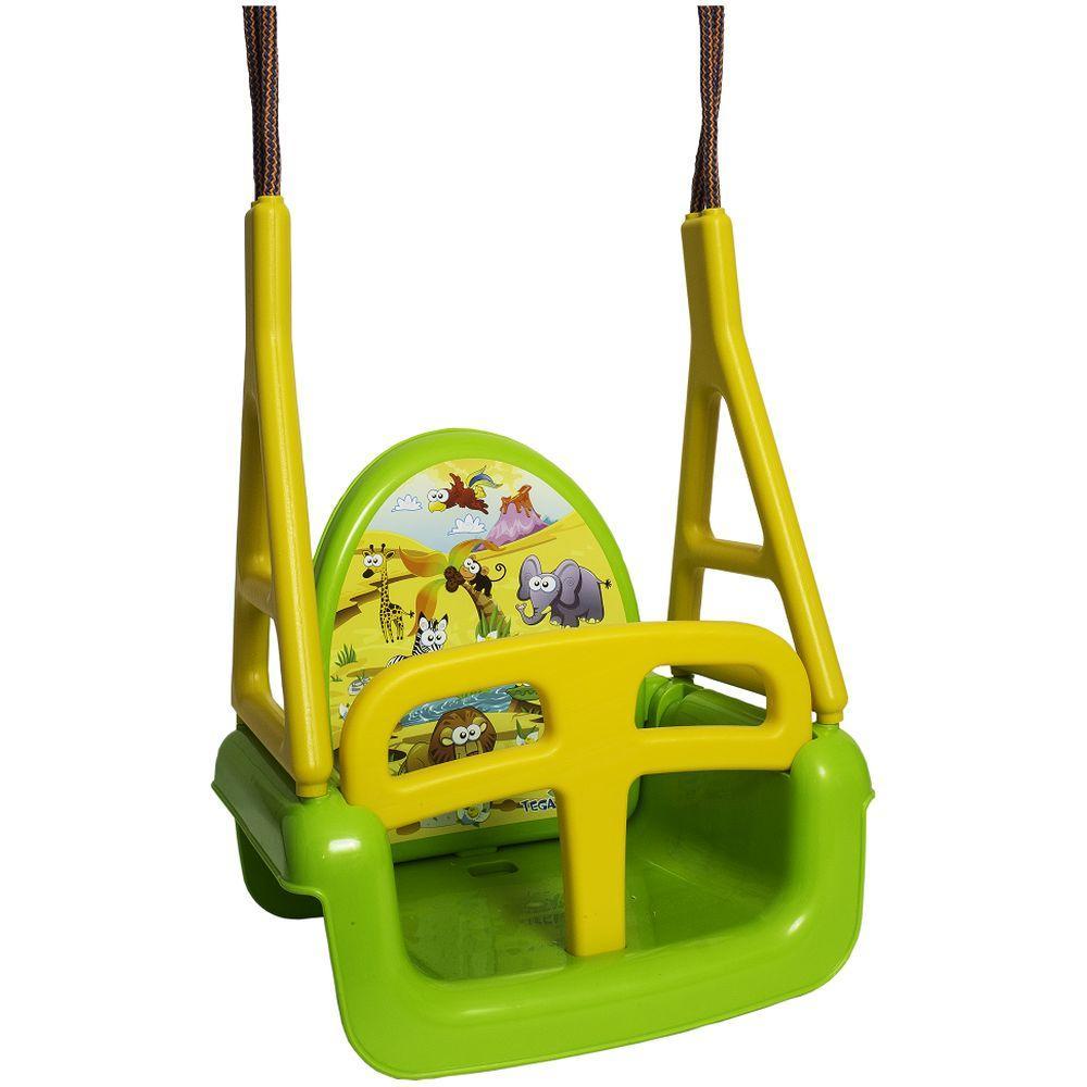 Leagan 3 in 1 multifunctional Tega Baby Safari Verde