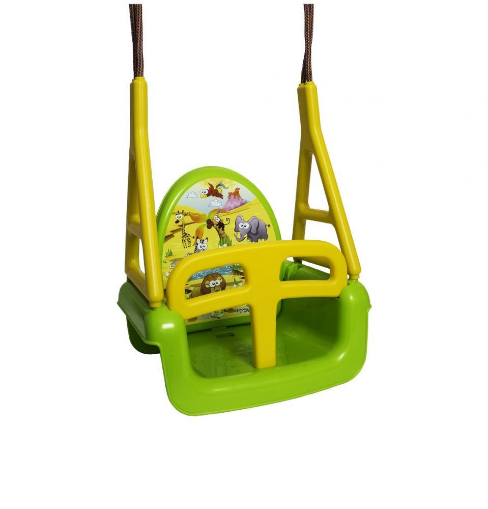 Leagan modular 3 in 1 Tega Baby verde imagine