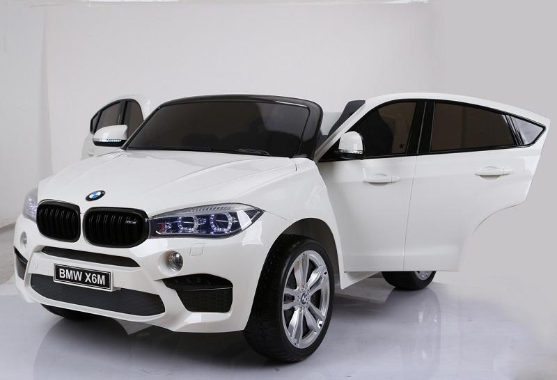 Masinuta electrica BMW X6M cu doua locuri White