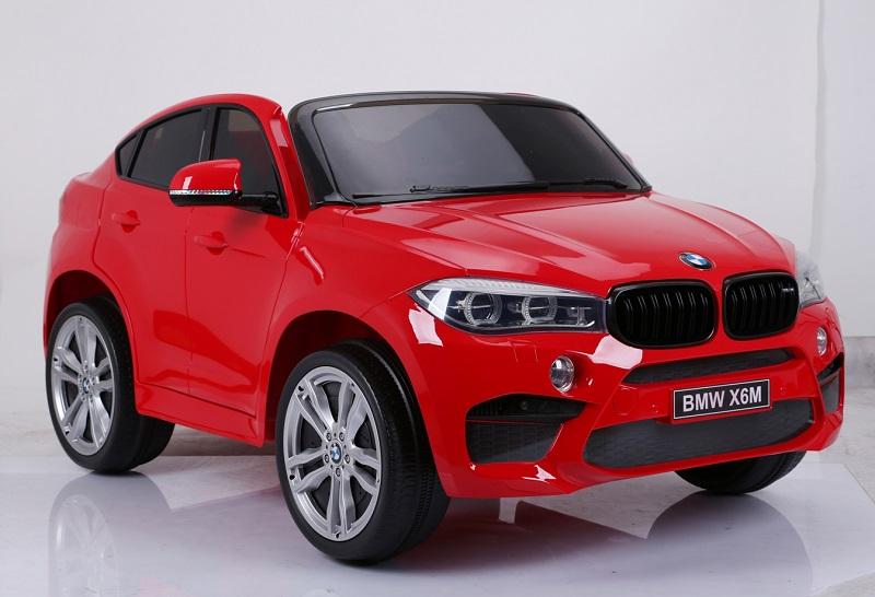 Masinuta electrica BMW X6 XXL cu doua locuri Red - 3