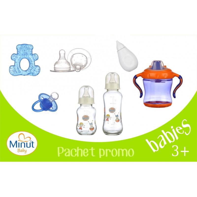 Pachet promo 1 Minut Baby babies 3+