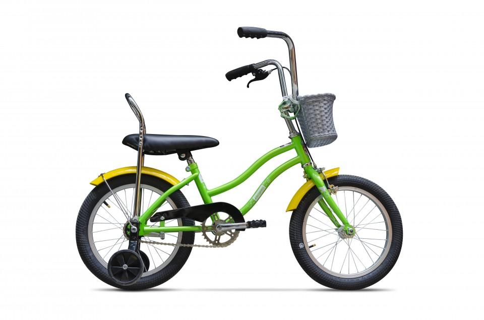 Bicicleta Mezin F 16 inch Verde Oac Oac imagine