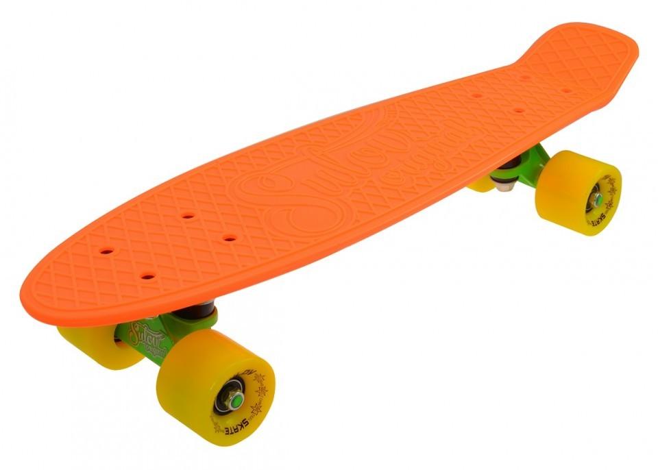 Penny Board SLV Neon 22 Inch PortocaliuGalben imagine