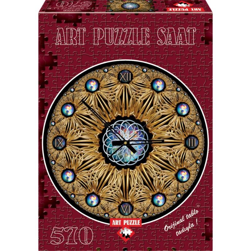 Puzzle 570 piese Ceas Golden Joseph Anthony