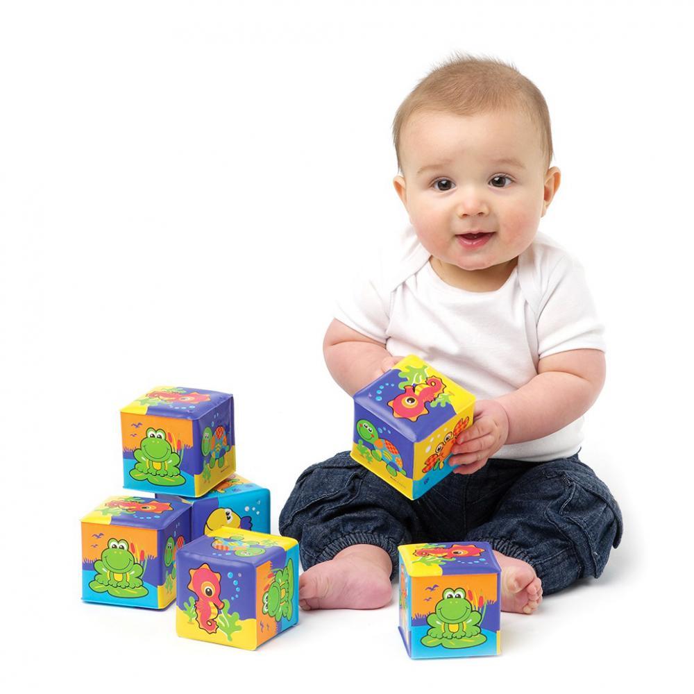 Set cuburi constructie Animale Acvatice