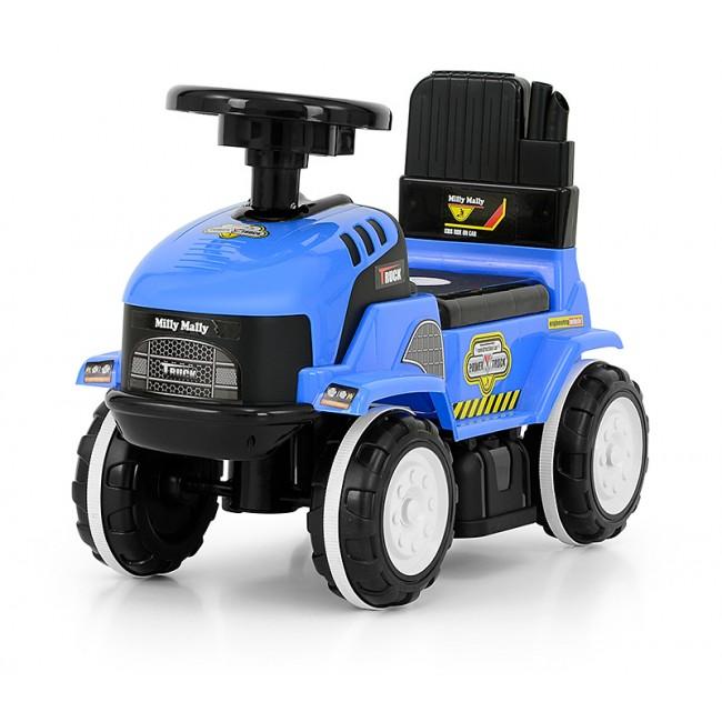 Tractor copii Rolly Blue cu diverse sunete
