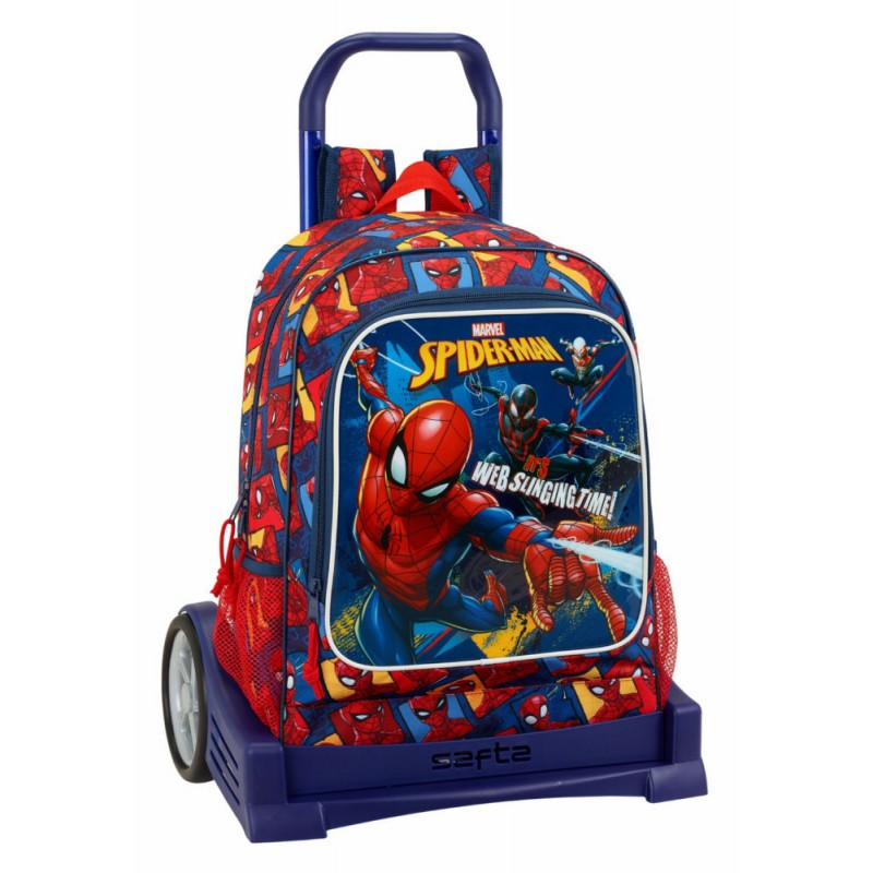 Troler Evolution baieti Spiderman