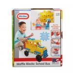 Blocuri de constructie Autobuz scolar
