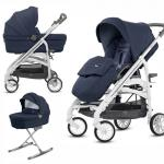 Carucior Trilogy System Duo Imperial Blue