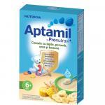 Cereale cu lapte Nutricia Aptamil Porumb, orez si banane 225g 6luni+