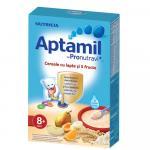 Cereale cu lapte si 5 fructe Aptamil Nutricia 225g, 8luni+