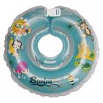 Colac de gat pentru bebelusi SwimBee Albastru