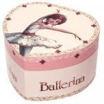 Cutie muzicala inima Ballerina