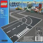Curba si Intersectie Lego City