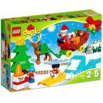 Vacanta de Iarna cu Mos Craciun Lego Duplo