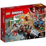Jaful de la Banca cu Subminatorul Lego Juniors