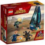 Atacul Transportorului de Trupe Outrider Lego Marvel Super Heroes