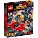 Iron Man: Atacul lui Detroit Steel Lego Marvel Super Heroes