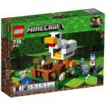 Cotetul de gaini Lego Minecraft