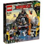 Vizuina lui Garmadon din Vulcan Lego Ninjago