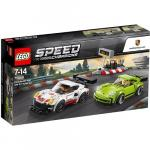 Porsche 911 RSR si 911 Turbo 3.0 Lego Speed Champions