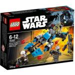 Motocicleta de Viteza Bounty Hunter Lego Star Wars