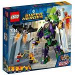 Distrugerea Robotului Lex Luthor Lego Super Heroes