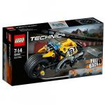 Motocicleta de Cascadorie 42058 Lego Technic