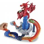 Pista Playset Dragonul Infuriat