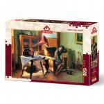 Puzzle 1500 piese Gramophone